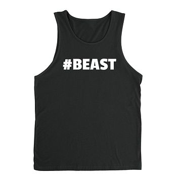 Beast funny cool trending gift ideas for her for him humor joke gift matching couple Tank Top