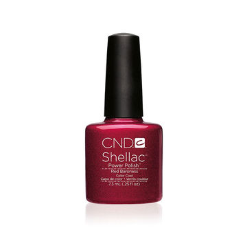 CND - Shellac Red Baroness (0.25 oz)