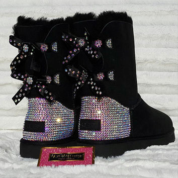 Custom UGGS, Adult bling UGGS, Womens uggs, womens ugg boots, bling uggs, blingged uggs, Customized ugg boots