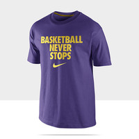 """Check it out. I found this Nike """"Basketball Never Stops"""" Men's T-Shirt at Nike online."""