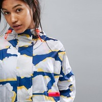 adidas Stella Sport Cloud Print Jacket at asos.com