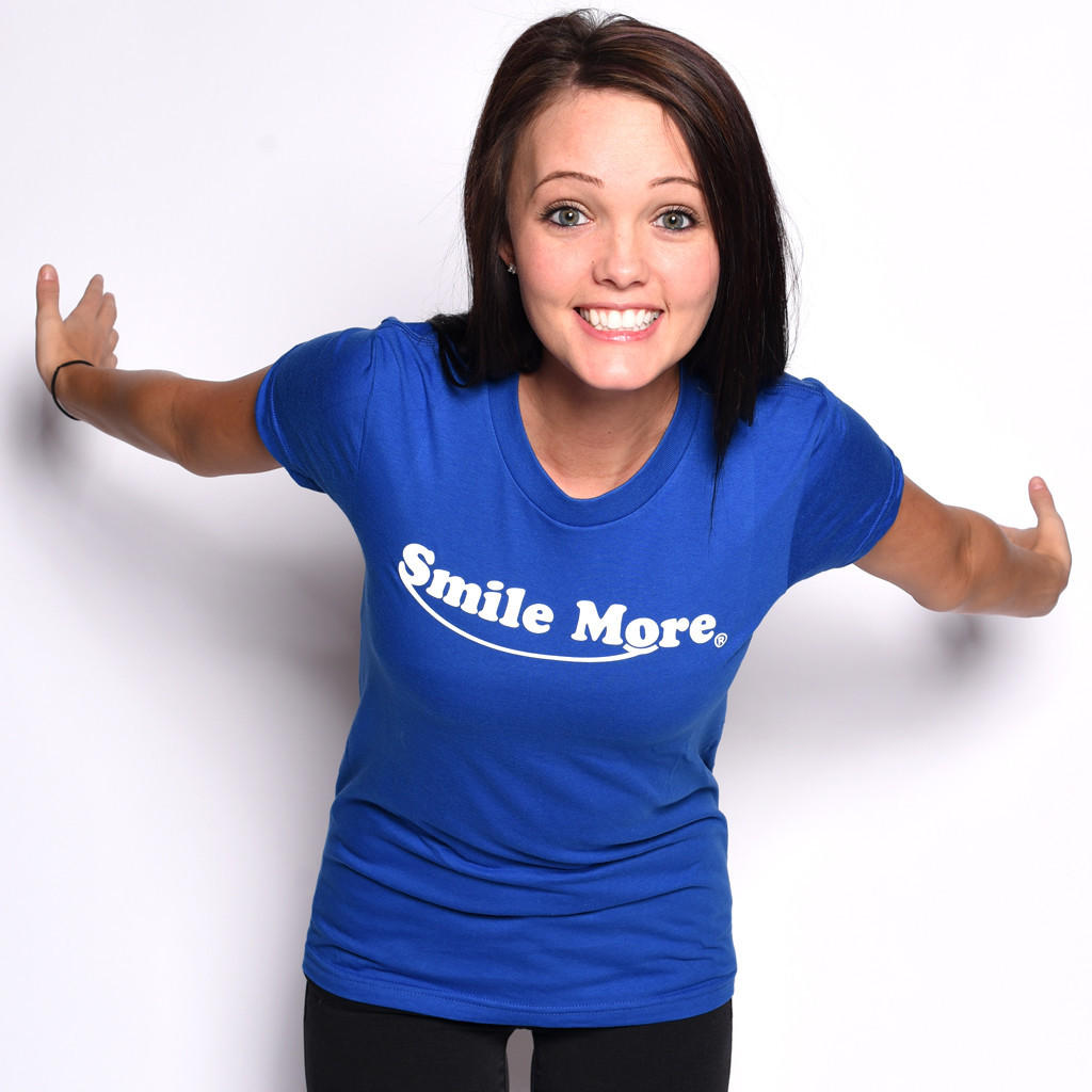 Smile More T Shirts Women S From Romanatwood Com Christmas