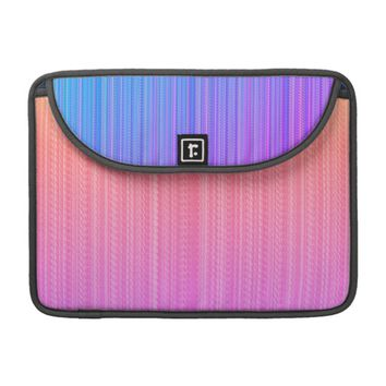 Gestreiftes MacBook Pro Sleeve