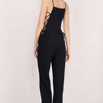 Roped In Wide-Leg Jumpsuit
