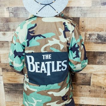 The Beatles Camo Jacket