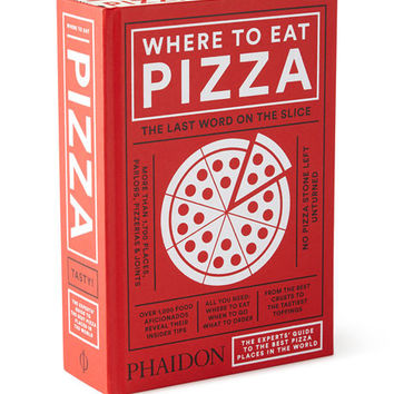 Where to Eat Pizza Hardcover Gift Book