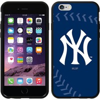 Coveroo, Inc. New York Yankees Stitch Design iPhone 6 Switchback Snap-On Case 786-418-BK-FBC (Ynk Team)