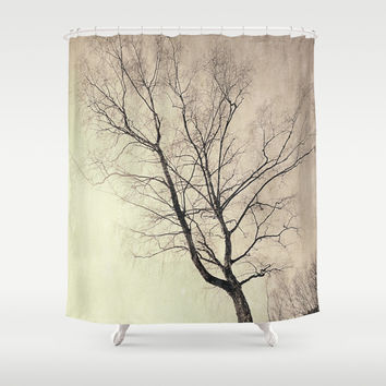 The guard dog Shower Curtain by HappyMelvin