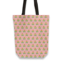 Fischer's lovebirds pattern Totebag by Savousepate from €25.00   miPic