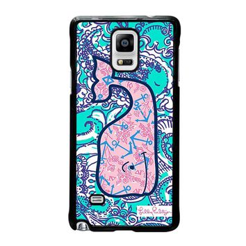 LILLY PULITZER VINEYARD VINES Samsung Galaxy Note 4 Case Cover