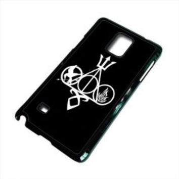 Harry Potter, Percy Jackson, Mortal Instruments, Hunger Games, and Divergent for samsung galaxy note 5 case