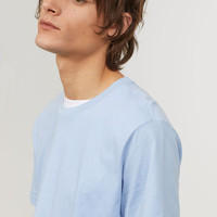 Round-necked T-shirt - from H&M