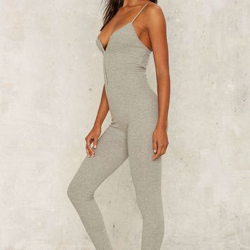 Lavish Alice Touch Me in the Morning Knit Catsuit