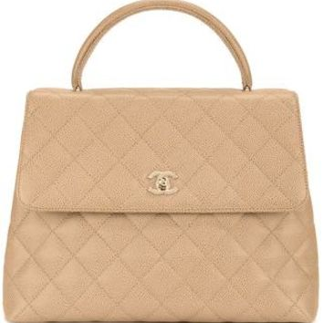 Chanel Vintage Cc Quilted Hand Bag - Amore - Farfetch.com