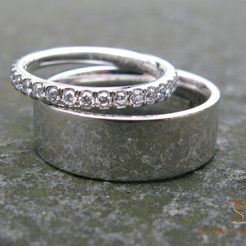 Custom Wedding Band for Him