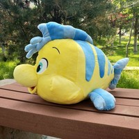 Little Mermaid Ariel Flounder Ursula Plush Dolls Soft Stuffed Cartoon Toys for Girls Christmas Gifts