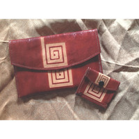 Goat Hide Imported Greek Wallet & Change Purse