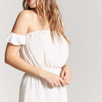 Off-the-Shoulder Ruffled Romper