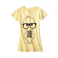 Product: License Juniors Chick Graphic Tee