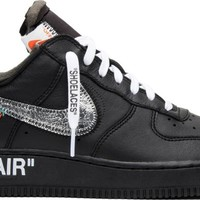 OFF-WHITE x MoMA x Air Force 1 07 'Black' - Nike - AV5210 001