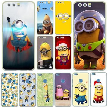 Lavaza my fluffy unicorn Despicable Me Minions Case for Huawei P20 Pro P10 P9 Plus P8 Mate 10 Lite Mini 2017 2016 2015 P smart