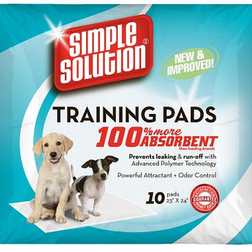 Puppy Training Pads -  10 Pk