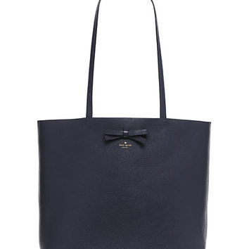 Kate Spade On Purpose Blue Leather Tote Galaxy ONE