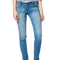 Olivia Low-Rise Jeggings in Ocean Blue