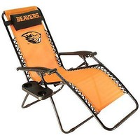 Oregon Beavers Zero Gravity Chair  Lounge Recliner