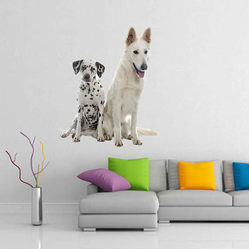dogs wall Decals dogs wall decor dogs Full Color wall Decals Animals wall Decals veterinary clinic decor Home Decor for kids room cik2234