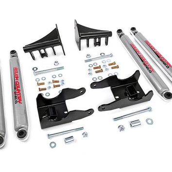 Ford F250 Super Duty Dual Rear Shock Kit for 6-8-inch Lifts 1999 - 2004