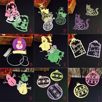 New 9 Style  Metal Cutting Dies Stencils Xmas Party DIY Scrapbooking Album Paper Card Photo Decorative Craft Embossing Folder