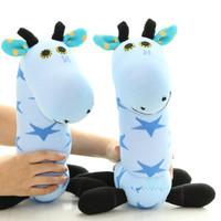 Handmade Sock Giraffe  stuffed animal baby Home Decor toys soft dolls