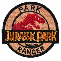 Jurassic Park, Park Ranger Iron On Patch | Costume Movie