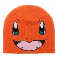 BIOWORLD Pokémon Charmander Knit Beanie Cap Hat