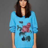 Free People Floral Graphic Tunic