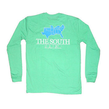 "Properly Tied ""The South"" LS Shirt"