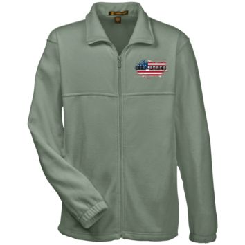 AIR FORCE : AMERICAN FLAG : M990 Harriton Fleece Full-Zip