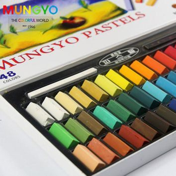 Painting Crayons Soft Pastel 24 32 48 64 Colors Set Art Drawing Set Chalk Hair Color Crayon Brush Stationery for Students