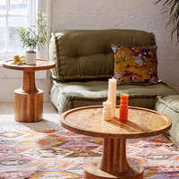 Sierra Round Wood Coffee Table - Urban Outfitters