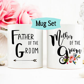 Mother of the Groom Gift, Father of the Groom Mug, Mother of the Groom Mug, Bridesmaid Mug, Bridesmaid Proposal Mugs, Mug Set