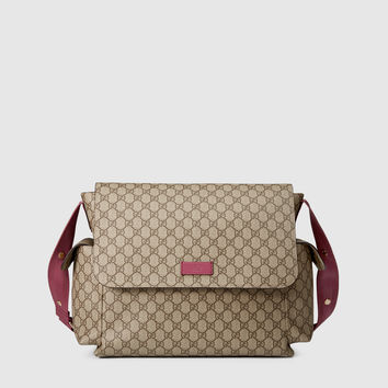 Gucci - gg supreme canvas diaper bag 211131KGDIG9777