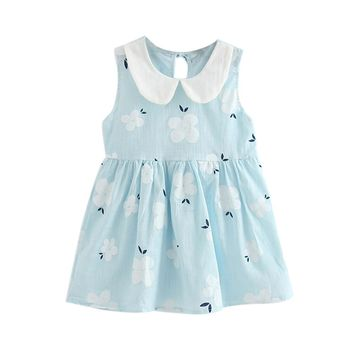 Toddlers Spring Flower Dress