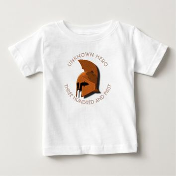 Unknown Spartan 301th Hero Greek Helmet Baby T-Shirt