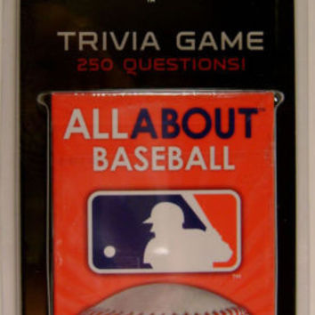 Lot 3 MLB All About Major League Baseball Trivia Questions 50 Card Game Sports