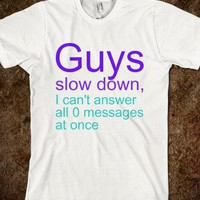 Slow down-Unisex White T-Shirt