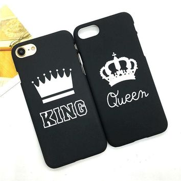King and Queen Couple Phone Case