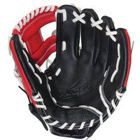 """Rawlings RCS Series 11.5"""" Infield Baseball Glove Black/Red"""