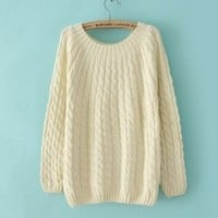 DD2 New hot sales sweater pullovers, autumn winter render sweater for women (Beige)