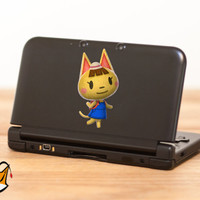 Katie Animal Crossing New Leaf decal sticker for Nintendo 3DS XL, 3DS, MacBook and all other devices! ma113
